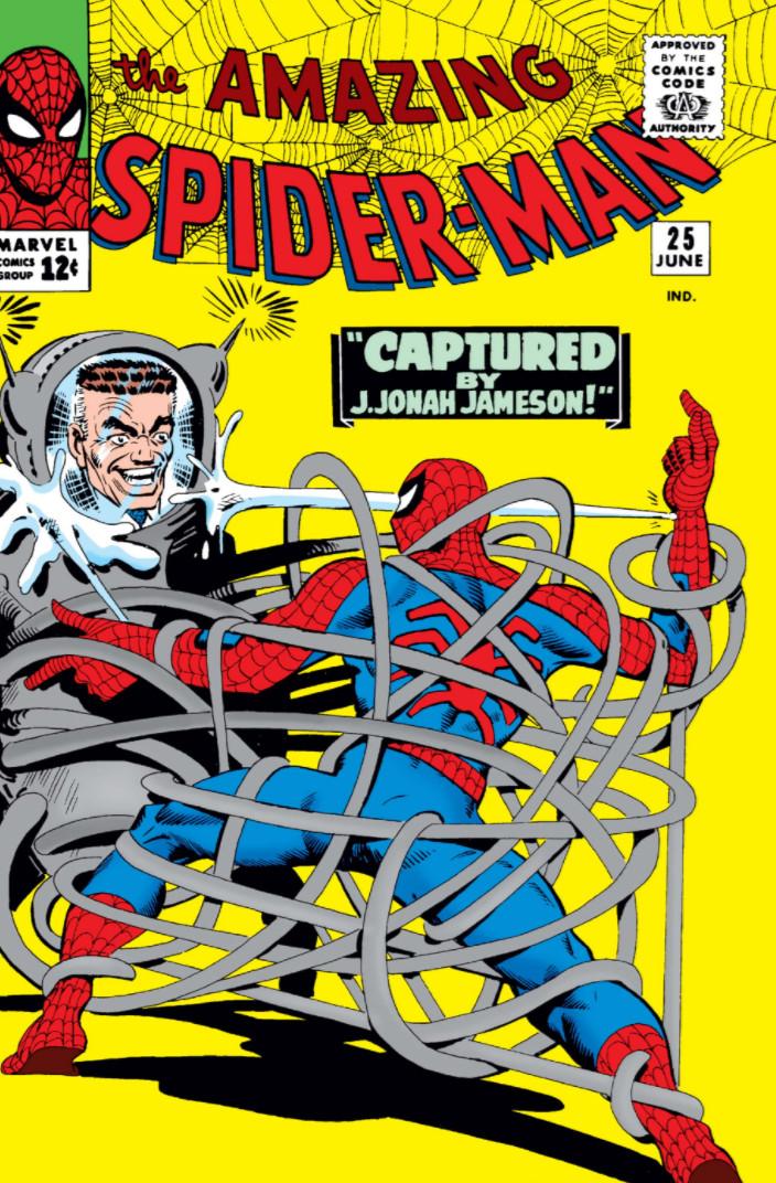 25 Amazing Teen Selfies: Amazing_Spider-Man_Vol_1_25.jpg