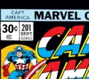 Captain America Vol 1 201