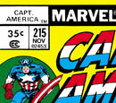 Captain America Vol 1 215