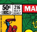 Amazing Spider-Man Vol 1 216