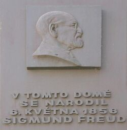 Sigmund Freud memorial plaque2