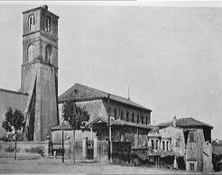 Sant'agnese fuori le mura - esterno - 1911