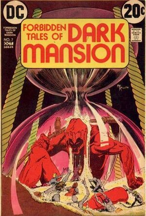 Cover for Forbidden Tales of Dark Mansion #7 (1972)