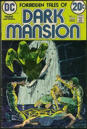 Cover for Forbidden Tales of Dark Mansion #11 (1973)