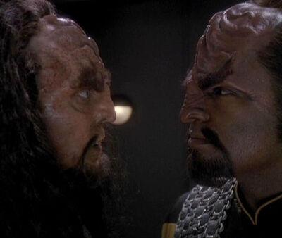 Martok und Worf