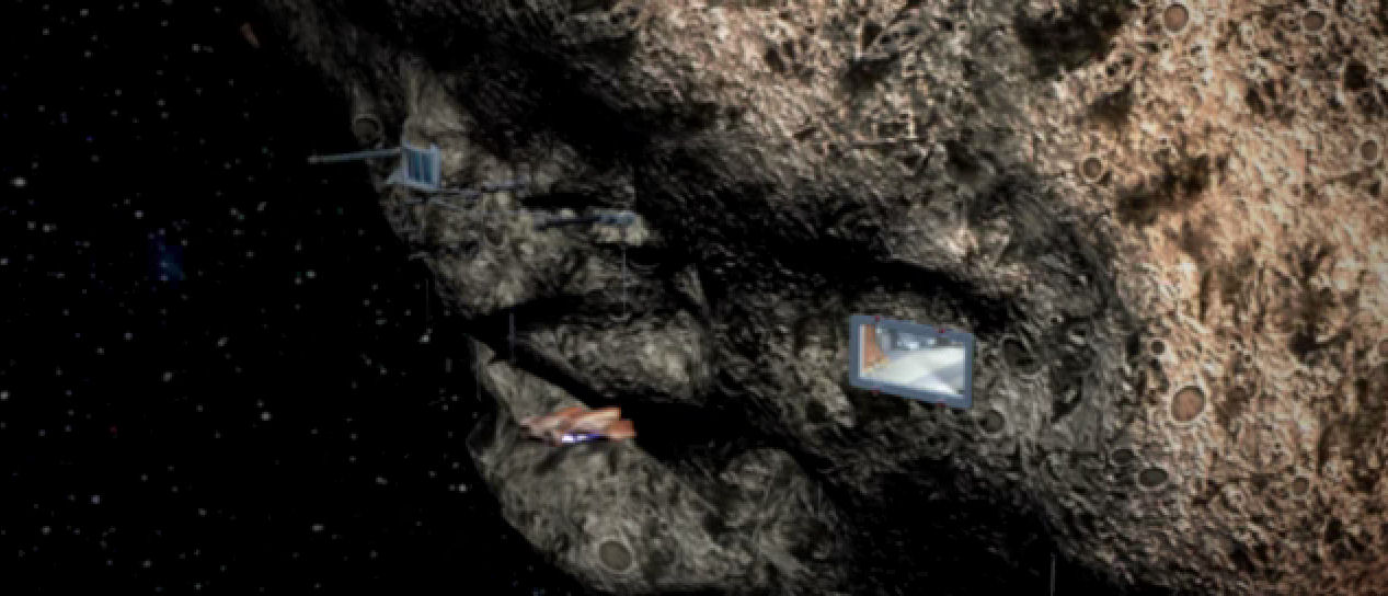 Asteroid Mining Facility - Pics about space