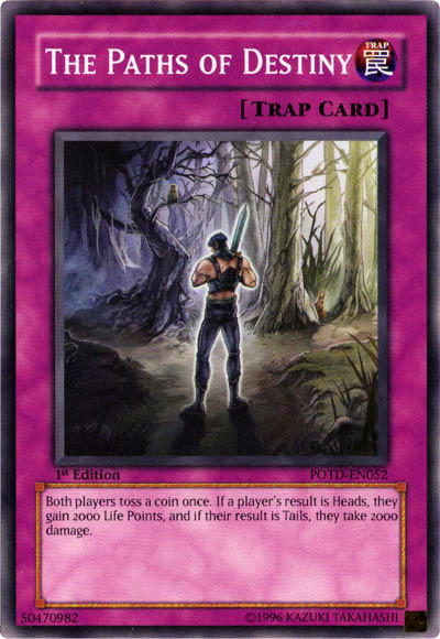 The Paths Of Destiny Yu Gi Oh It S Time To Duel