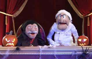 Statler and waldorf 39 s alternate identities and ages for Balcony muppets