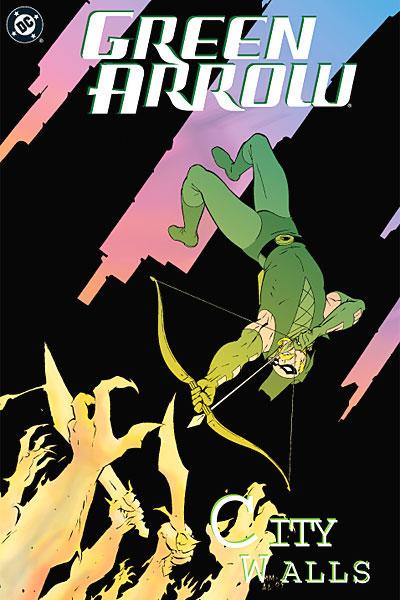 Green Arrows City Cover For The Green Arrow