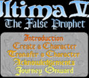 Computer Ports of Ultima VI