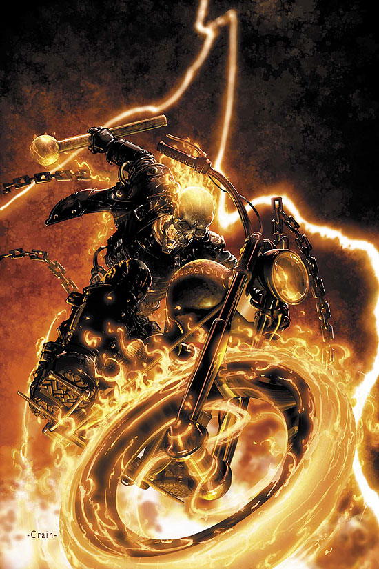 Ghost Rider Vol 5 1 Textless