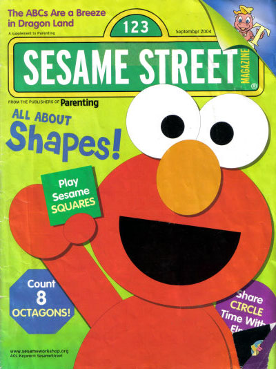 Language In 45 And 47 Stella Street: Sesame Street Magazine (Sep 2004)