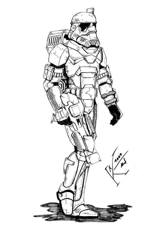 Crimson Empire Hazard Trooper The Star Wars Exodus