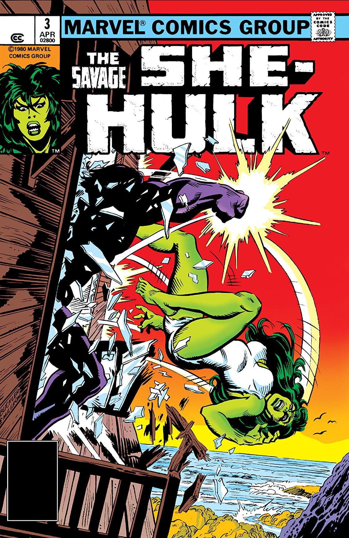 Savage She-Hulk Vol 1 3 - Marvel Comics Database