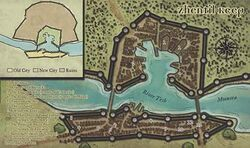 Map of Zhentil Keep - Robert Lazzaretti