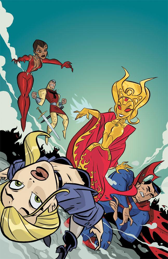 Justice League Unlimited Vol 1 9 - DC Comics Database - Wikia