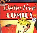 Detective Comics Vol 1 39