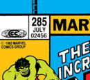 Incredible Hulk Vol 1 285