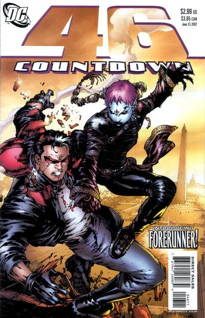 Jason Todd And Scarlet Countdown to Final Crisis