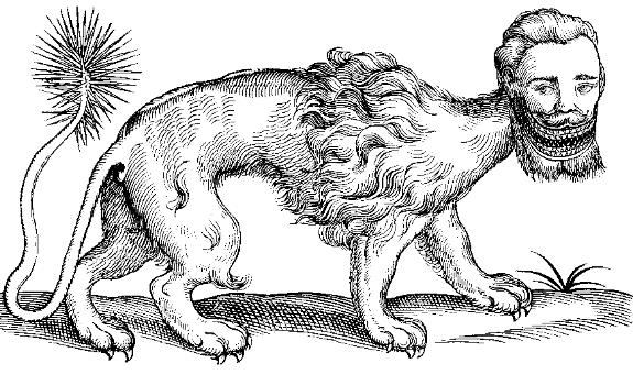 manticore  creature