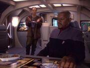 Sisko und Eddington 2373