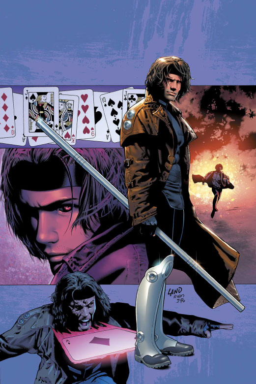 Gambit Comic Art Gambit vol 4 3 textless