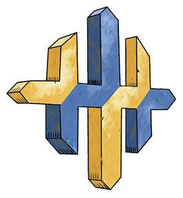 schiera sovrana Simbolo della Schiera Sovrana - by pubblicazione incerta © dell'autore
