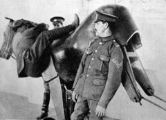 Horse simulator WWI