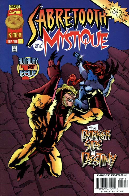 sabretooth and mystique vol 1 marvel comics database wikia