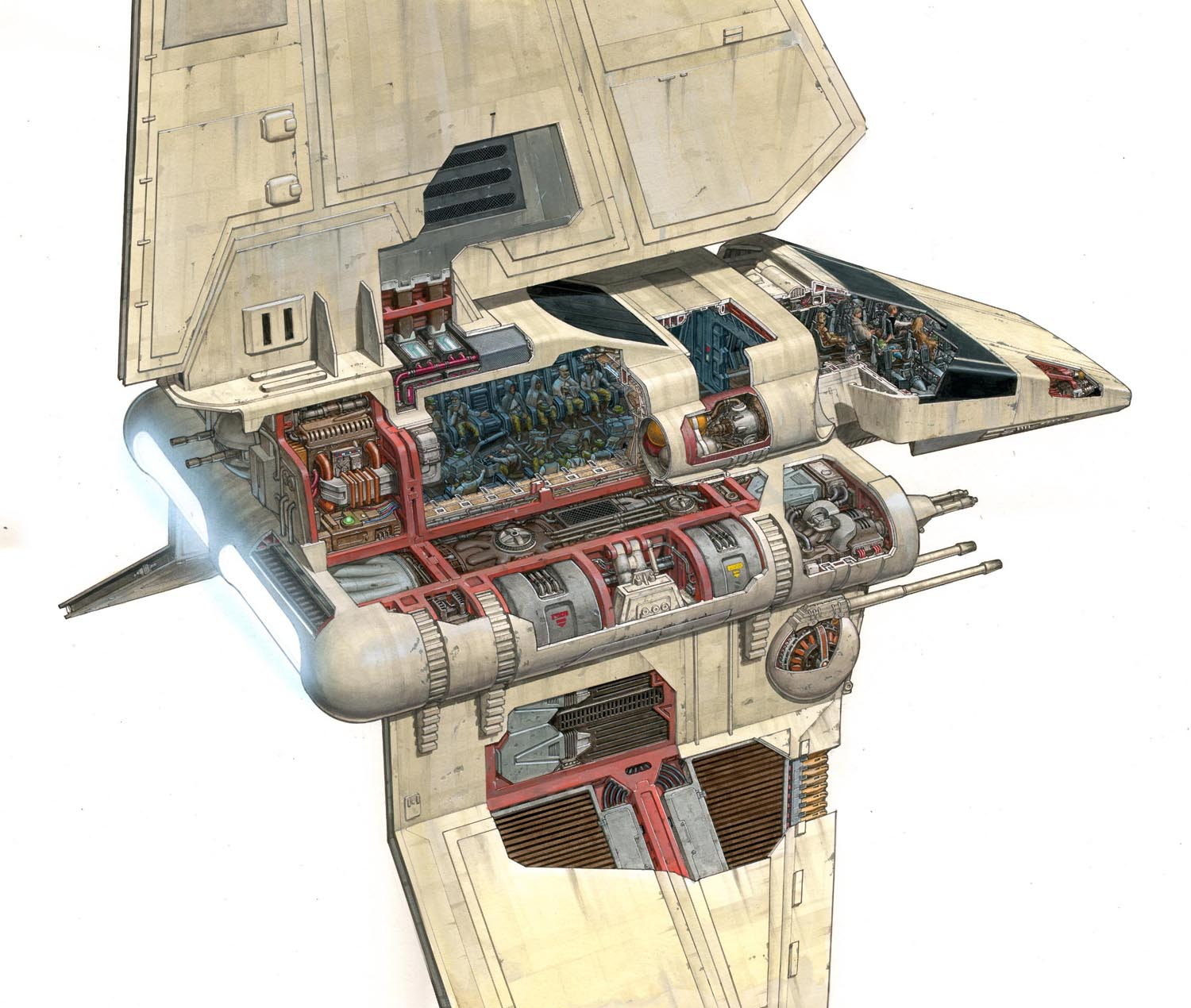 Star Wars Youtoub Imperial Shuttle 55