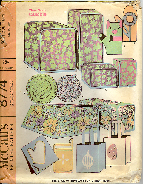 McCall's 8774 - Vintage Sewing Patterns
