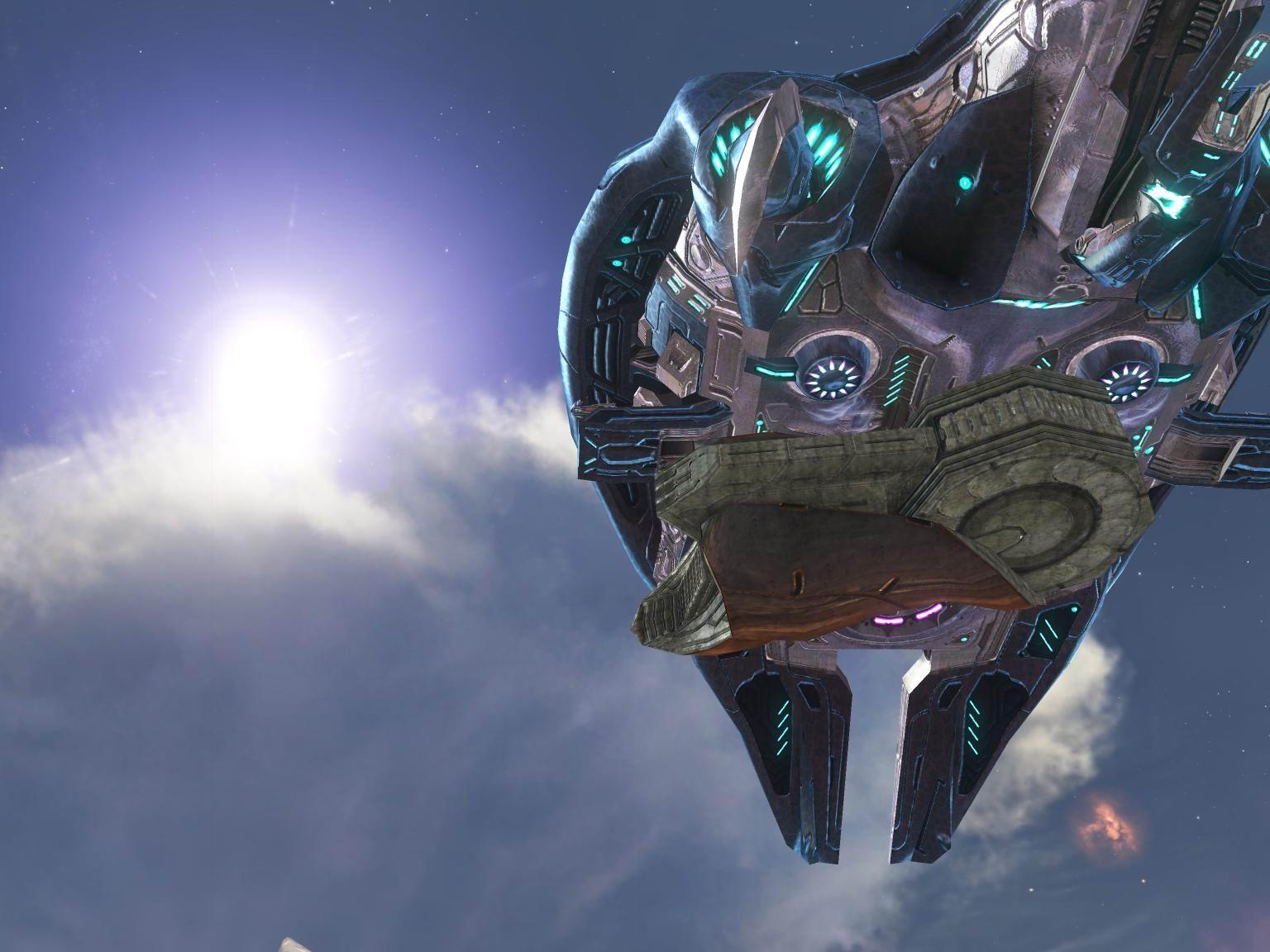 Image - HReach-PhantomGunboatSide-transparent.png - Halo ...  |Halo Reach Phantom