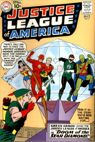 Justice League Of America Vol 1 4 Dc Comics Database