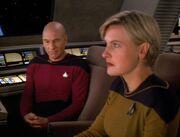 Yar begleitet Picard