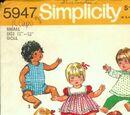 Simplicity 5947 A