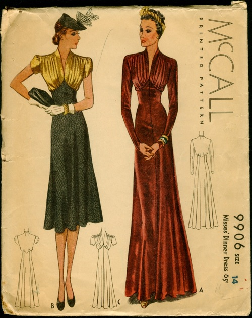 Mccall 9906 Vintage Sewing Patterns