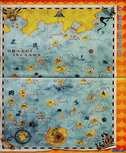Orange Islands Map Png