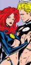 Madelyne Pryor (Earth-616) and Alexander Summers (Earth-616) from Uncanny X-Men Vol 1 242 0001.jpg