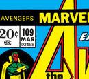 Avengers Vol 1 109