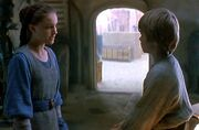 Padmé lernt Anakin kennen