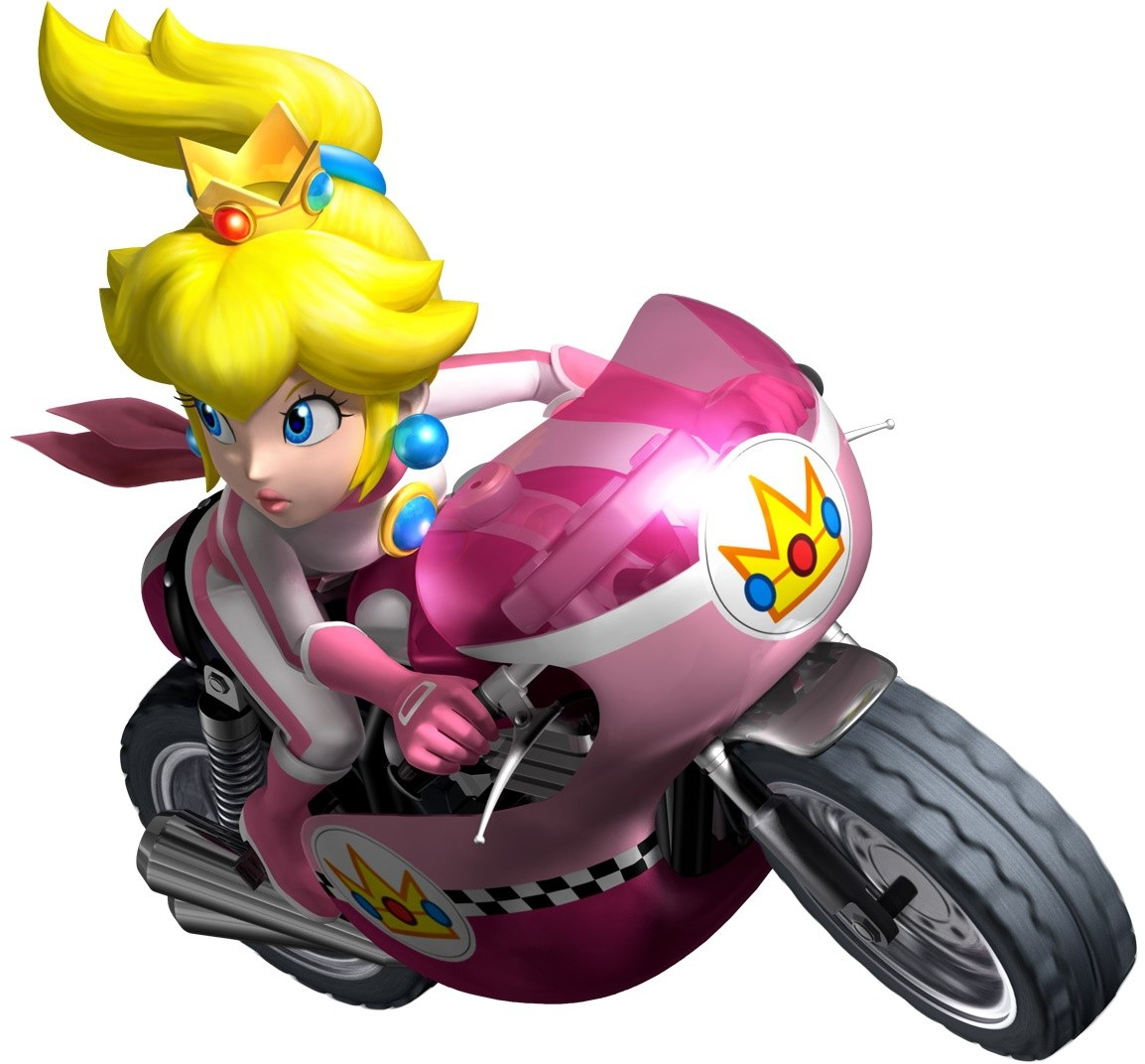 Princess Peach - The Mario Kart Racing Wiki - Mario Kart ...