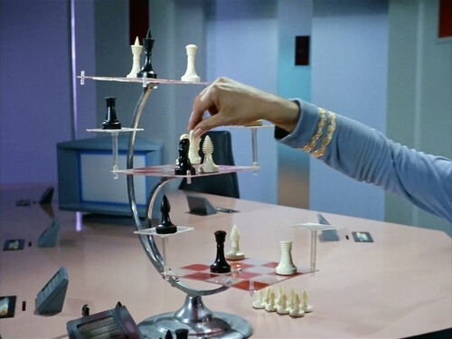 Three dimensional chess memory beta non canon star trek wiki - Tri dimensional chess set ...