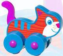 Cat Under 3 toy (Wendy's, 2008)