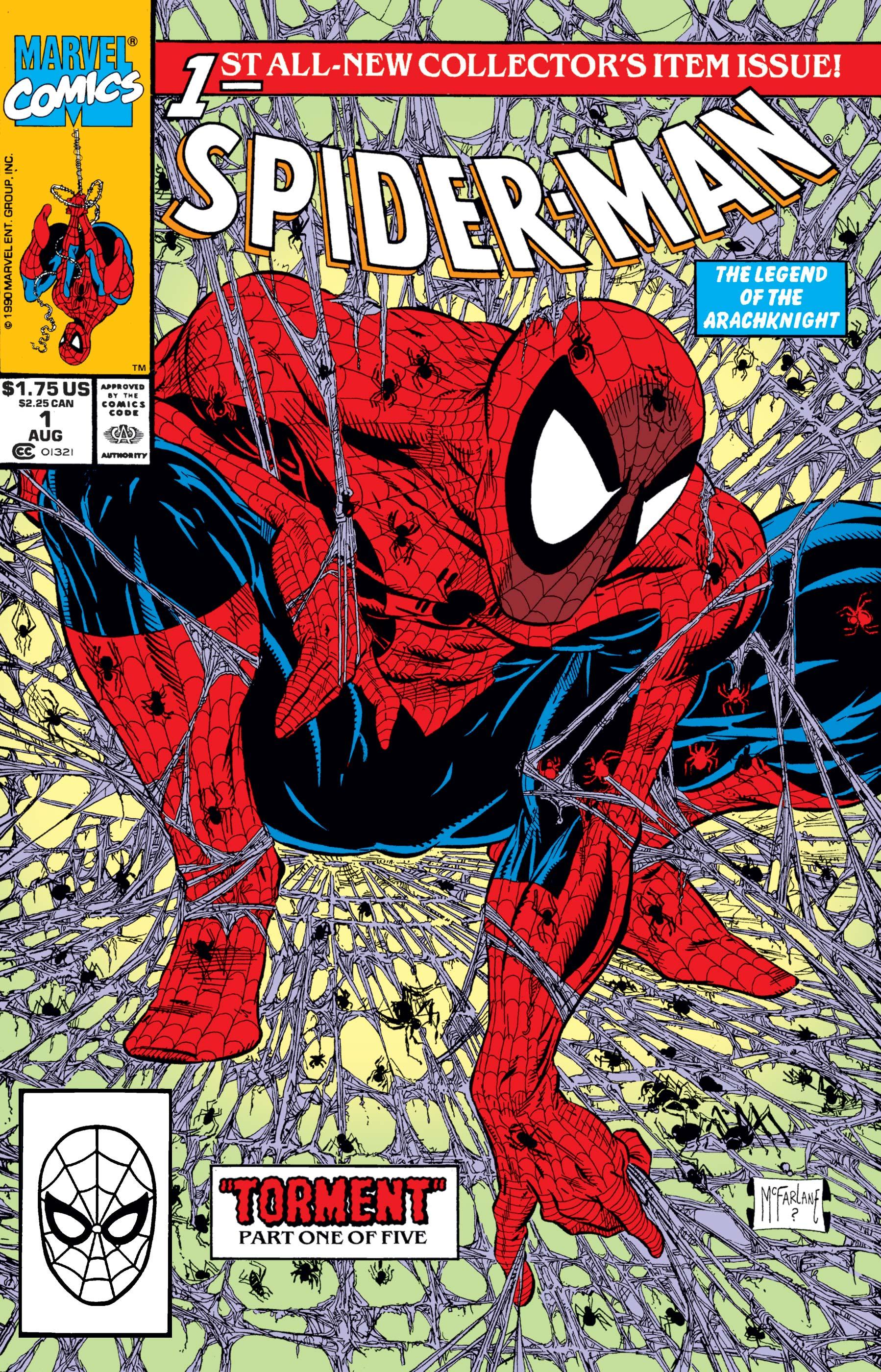 spider man vol 1 1 marvel comics database. Black Bedroom Furniture Sets. Home Design Ideas