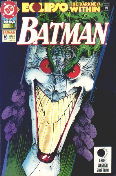 Batman Annual on Batman Gotham City Map
