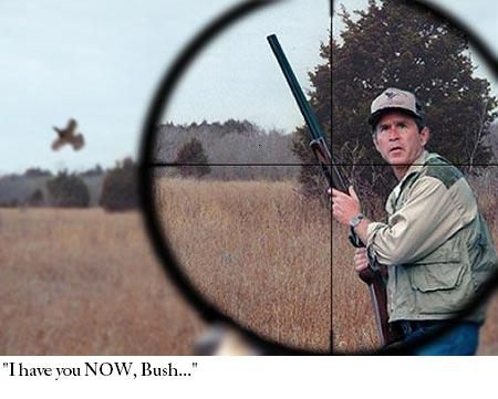 George Bush Hunting Edited JPGGeorge W Bush Hunting
