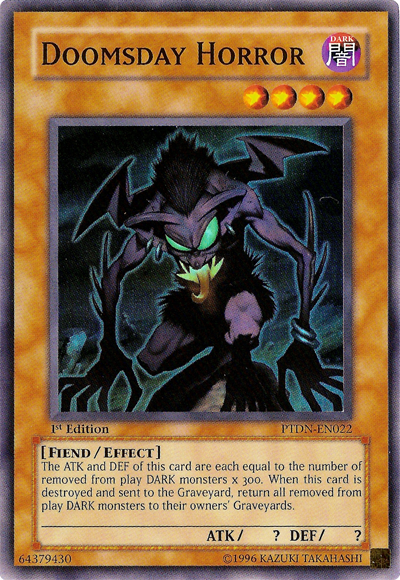 Doomsday Horror Yu Gi Oh It S Time To Duel Wikia