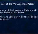 Map of Ve'Lugannon Palace