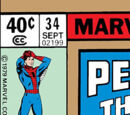 Peter Parker, The Spectacular Spider-Man Vol 1 34