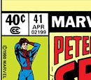 Peter Parker, The Spectacular Spider-Man Vol 1 41